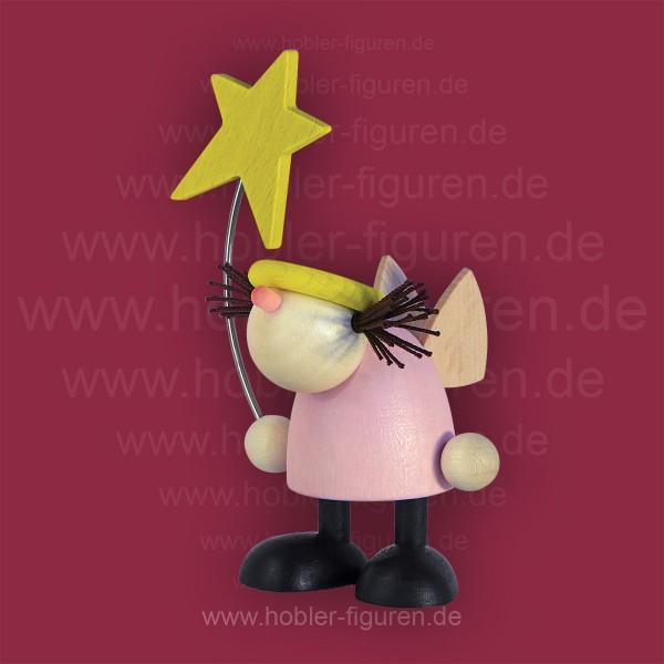 Frieda stehend mit Stern
