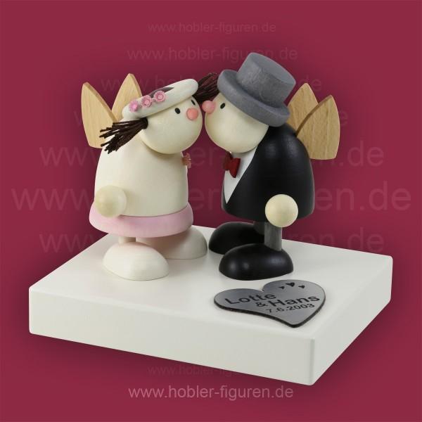 Ein Brautpaar ganz individuell