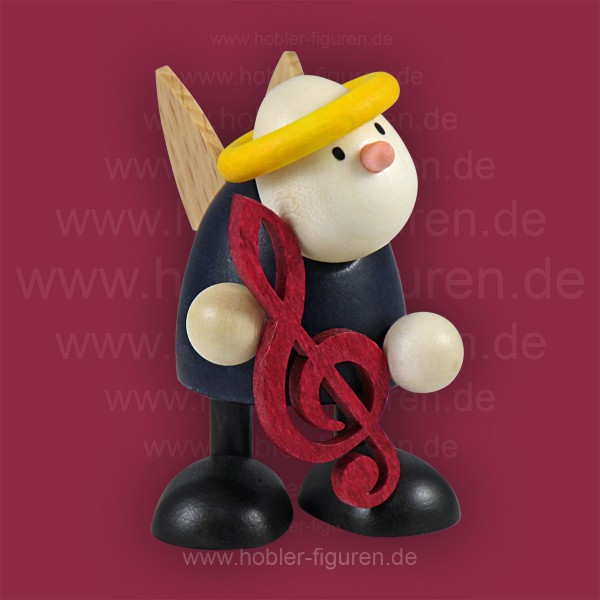 Hans mit Notenschlüssel