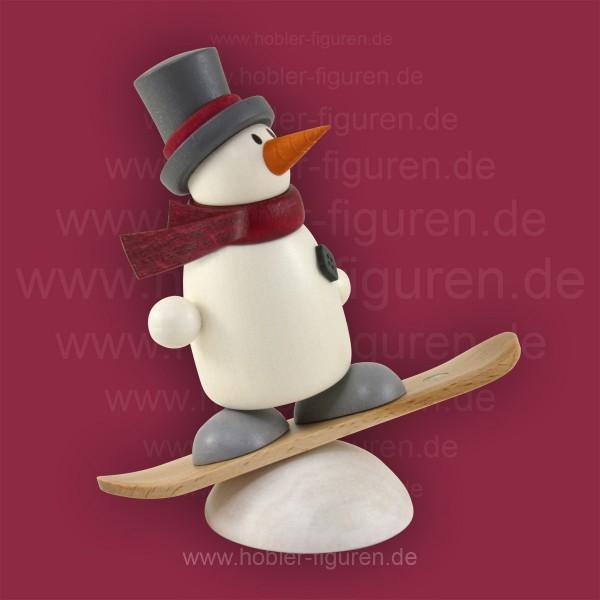 Fritz auf Snowboard