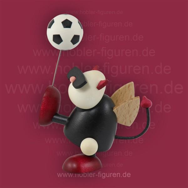 Gustav mit Fußball Hochschuß