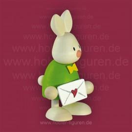 Max mit Liebesbrief