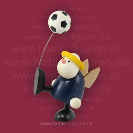 Hans mit Fußball Hochschuß