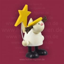 Lotte stehend mit Stern