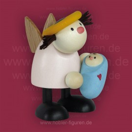 Lotte mit Baby Junge