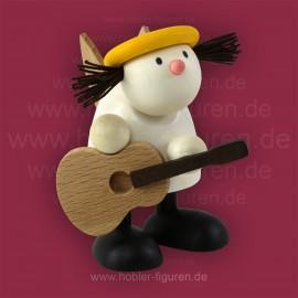 Lotte mit Gitarre