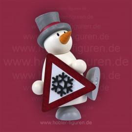 Fritz mit Schild