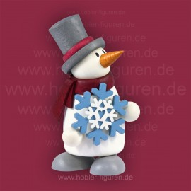 Fritz mit Schneeflocke
