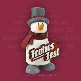 "Fritz mit ""Frohes Fest"""